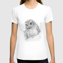 The bare-legged owl or Cuban screech owl T-shirt