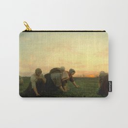 Jules Breton - The Weeders Carry-All Pouch