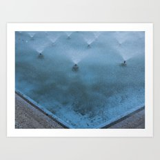 Dancing on Glass Art Print
