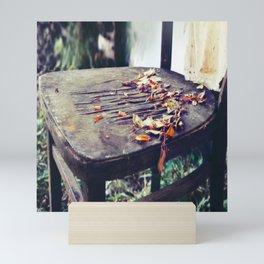 Emptiness You Left Behind Mini Art Print