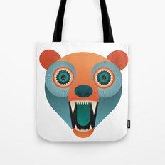 Geometric Bear Tote Bag