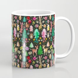 Forest Friends in the Kitsch Woods Coffee Mug