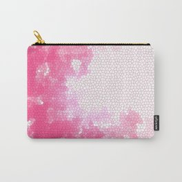Pink stained glass Carry-All Pouch