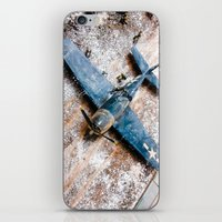 airplane iPhone & iPod Skins featuring Airplane by Mauricio Santana