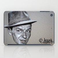 frank sinatra iPad Cases featuring FRANK SINATRA by Jahwan by JAHWAN