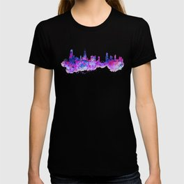 Chicago Watercolor Skyline 2 T-shirt