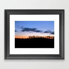 Fireline Framed Art Print