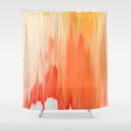 Pixel Sorting 64 Shower Curtain