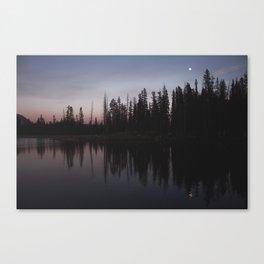 Double Moon Canvas Print
