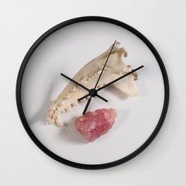 Still Life with Quartz #2 Wall Clock