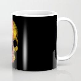Dark Skull with Flag of Cameroon Coffee Mug