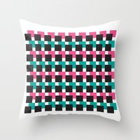 jack Throw Pillows featuring JACK by kemiemo