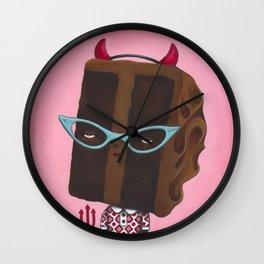 Devil's Food Cake Wall Clock