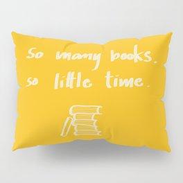 So Many Books. So Pillow Sham