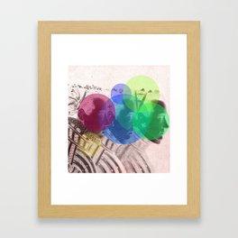 Threefold Framed Art Print