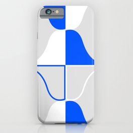 Whales In Cobalt Blue Waters iPhone Case