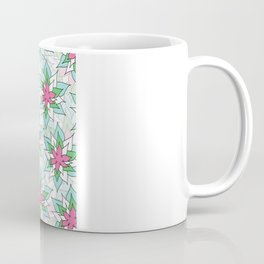 Doodly Flowers Coffee Mug