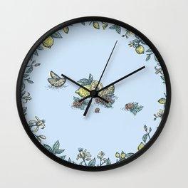 Lemon&Raspberry Wall Clock