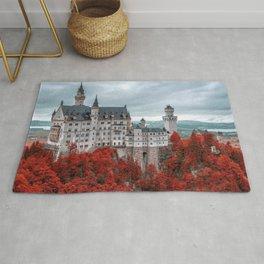 Breathtakingly Beautiful Fairytale Neuschwanstein Castle Schwangau Bavaria Germany Europe Ultra HD Rug