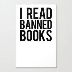 Banned Books REvised Canvas Print