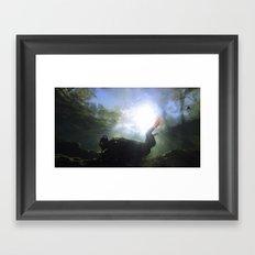 Depths of the Horizon Framed Art Print