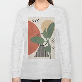 Nature Geometry III Long Sleeve T-shirt