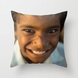 China Babu Throw Pillow