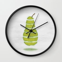 A Pear Apart Wall Clock
