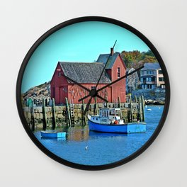 Motif Number One Wall Clock