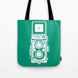 Yashica Mat 124G Camera Emerald Tote Bag