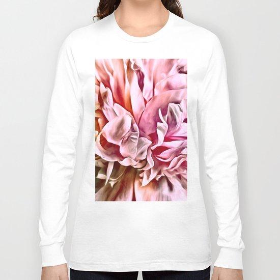 Painted Peony Warm Long Sleeve T-shirt