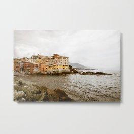 Boccadasse, Genova, Italy Metal Print
