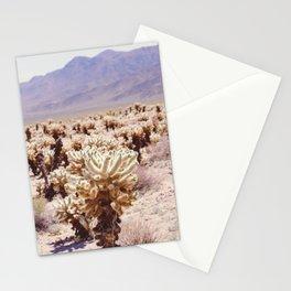 Chollo Cactus Garden - Joshua Tree Stationery Cards