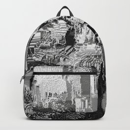 metal canal Backpack