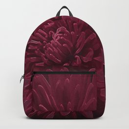 Burgundy Chrysanthemums Backpack