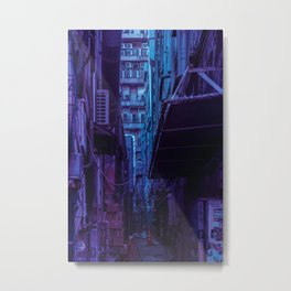 Tokyo Nights / Shadow of The Day / Liam Wong Metal Print
