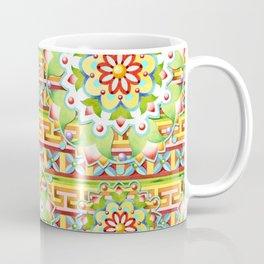 Fiesta Rainbow Mandala Coffee Mug