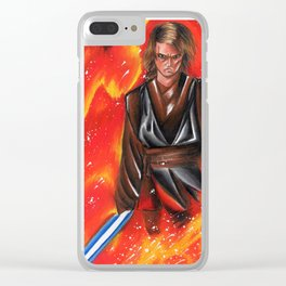 Anakin Skywalker Sith Clear iPhone Case
