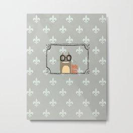 ** Funny Cat ** Metal Print