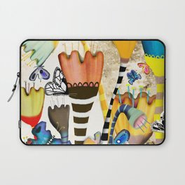 Get up, stand up - Rupydetquila Sunset Butterfies Laptop Sleeve