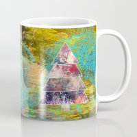 xmas Mugs featuring Xmas by Aniko Gajdocsi