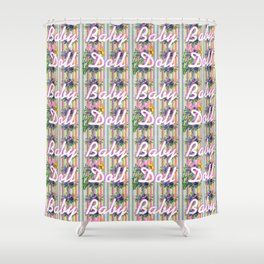 Baby Doll Shower Curtain