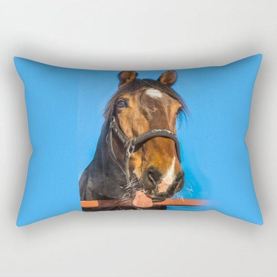 Horse Albert Rectangular Pillow
