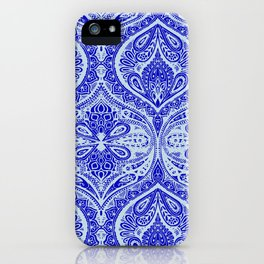 Simple Ogee Blue iPhone Case