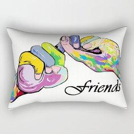 ASL Friends Rectangular Pillow