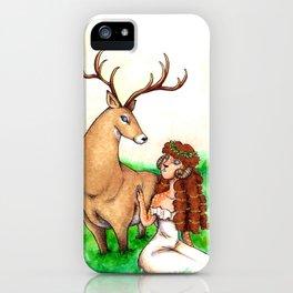 Fawn & Faun iPhone Case