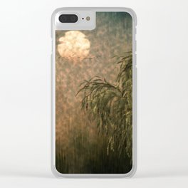 Willow at Sunset Clear iPhone Case