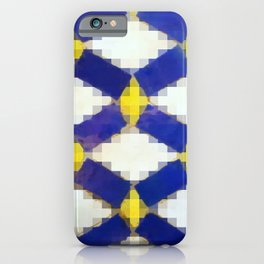 Sand & Aged Moroccan Mosaic Tiles iPhone Case