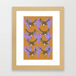 Desert at Dusk Framed Art Print