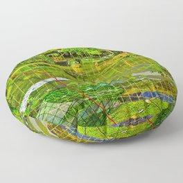 Landscape of My Heart (segment 3) Floor Pillow